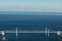 The Center of the Chesapeake Bay Bridges