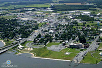 Sailwinds Park and the City of Cambridge on the Choptank River